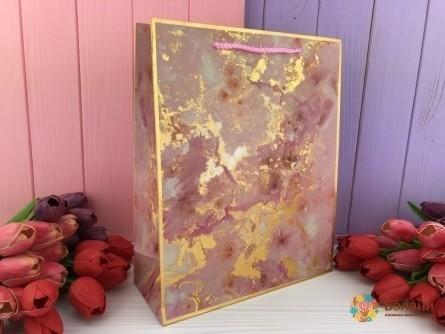 "Подарочные пакеты ""GOLD MARBLE"" - Belany.com.ua"
